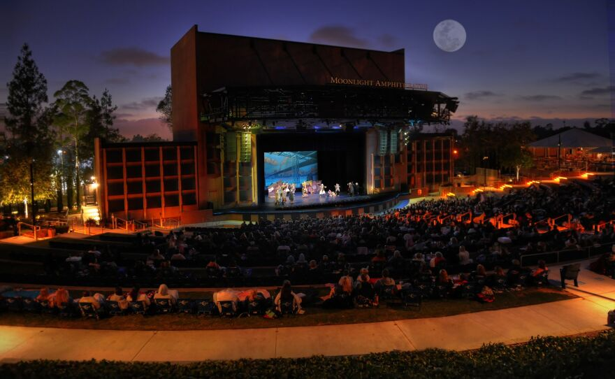 A promotional photo of Moonlight Amphitheatre.