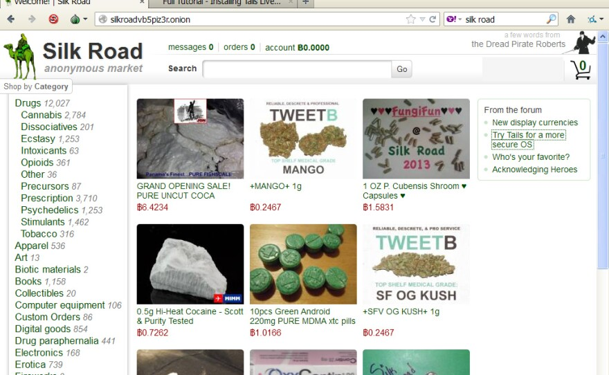Hackers used a hidden online black market called Silk Road to buy drugs intended to frame security blogger Brian Krebs.