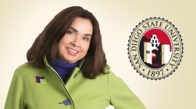 Adela de la Torre, ninth president of San Diego State University, is shown in this undated photo.