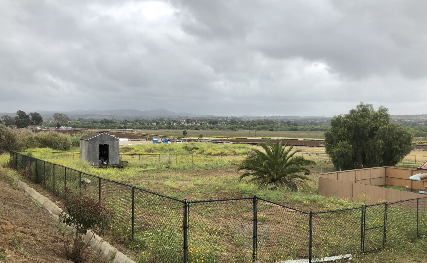 A view of the land where Integral Communities proposes to build about 650 homes off North River Road in Oceanside's Morro Hills, May 23, 2019.