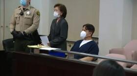 Larry Millete was arraigned on Oct. 21, 2021, on suspicion of murdering his wife Maya Millete.