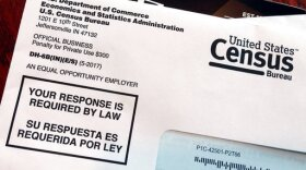 An envelope containing a 2018 census letter mailed to a resident in Providence, R.I., as part of the nation's only test run of the 2020 Census, March 23, 2018.