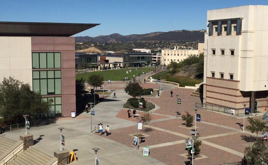 California State University San Marcos campus, Feb. 4, 2016.