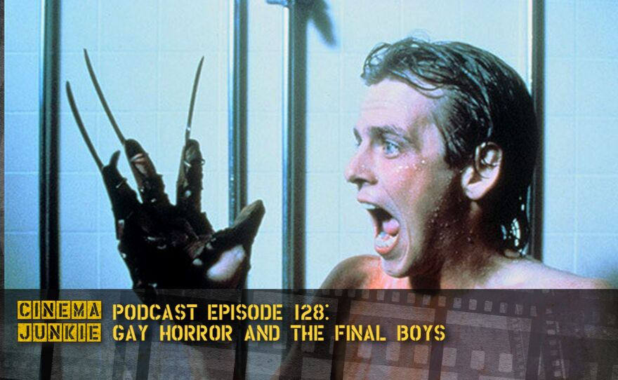 """Mark Patton as Jesse in """"Nightmare on Elm Street 2: Freddy's Revenge."""" He described himself as possibly the first male scream queen."""