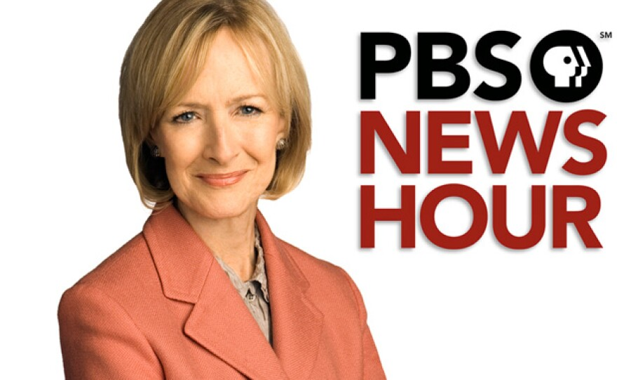 """Promotional photo of Judy Woodruff of """"The PBS NewsHour."""" Woodruff moderated the event in which 412 Californians came together in the city of Torrance for California's first-ever Deliberative Poll."""