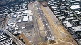 Aerial view of Palomar Airport and surrounding property in Carlsbad is shown in this undated photo.
