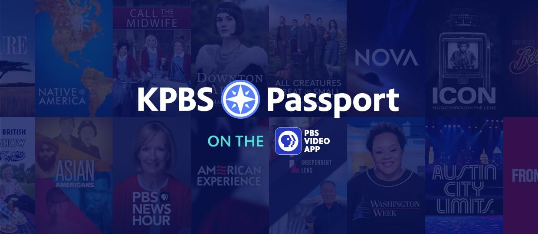 KPBS Passport on the PB Video App