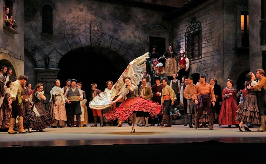 """""""Don Quixote"""" is an opera in which dance is an integral part."""