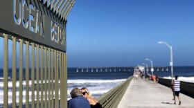 Gates open at the Ocean Beach Pier, May 24, 2019.