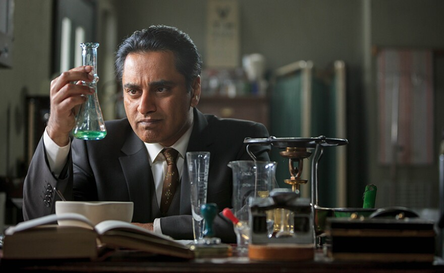 THE INDIAN DOCTOR is a comedy drama set in the 1960s following a high-flying Delhi graduate Dr. Prem Sharma (Sanjeev Bhaskar: Pictured) and his wife Kamini's (Ayesha Dharker) new life in a Welsh coal mining town.