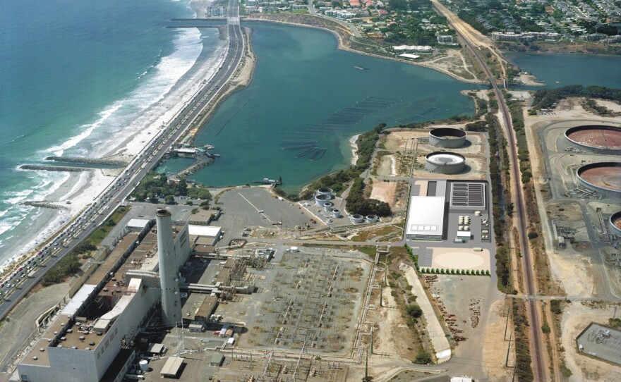 Site of the Poseidon Resources Desalination plant