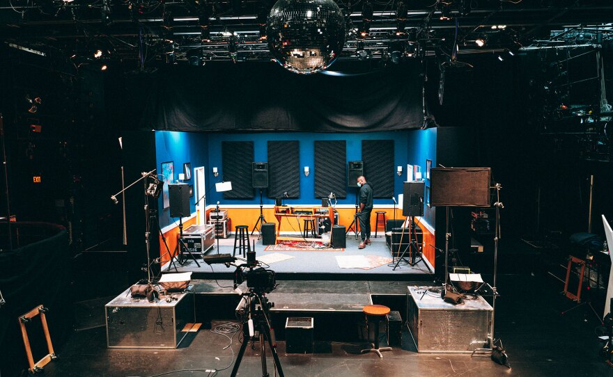 """San Diego REP has partnered with Company One Theatre and American Repertory Theater (pictured) to bring """"Hype Man: A Break Beat Play"""" to local audiences through May 8, 2021."""