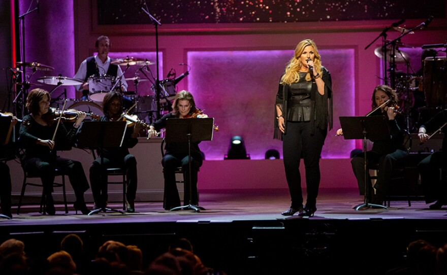 Trisha Yearwood at the live taping at DAR Constitution Hall in Washington, D.C.