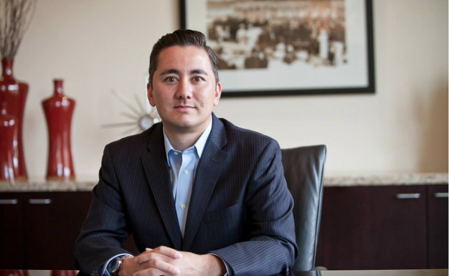 A portrait of San Diego County Taxpayers Association Vice President Chris Cate.
