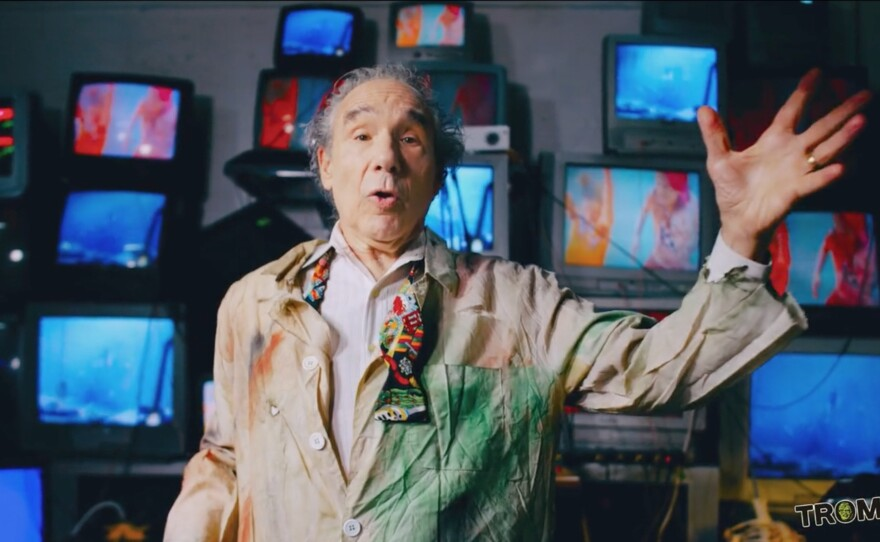 """Lloyd Kaufman, founder of Troma Entertainment, plays Prospero in his film adaptation of the Bard of Avon's """"The Tempest"""" called """"#Shakespeare's Sh--storm."""""""