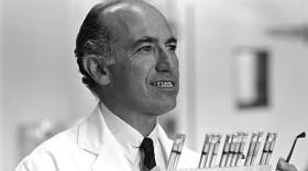 Undated photo of Jonas Salk