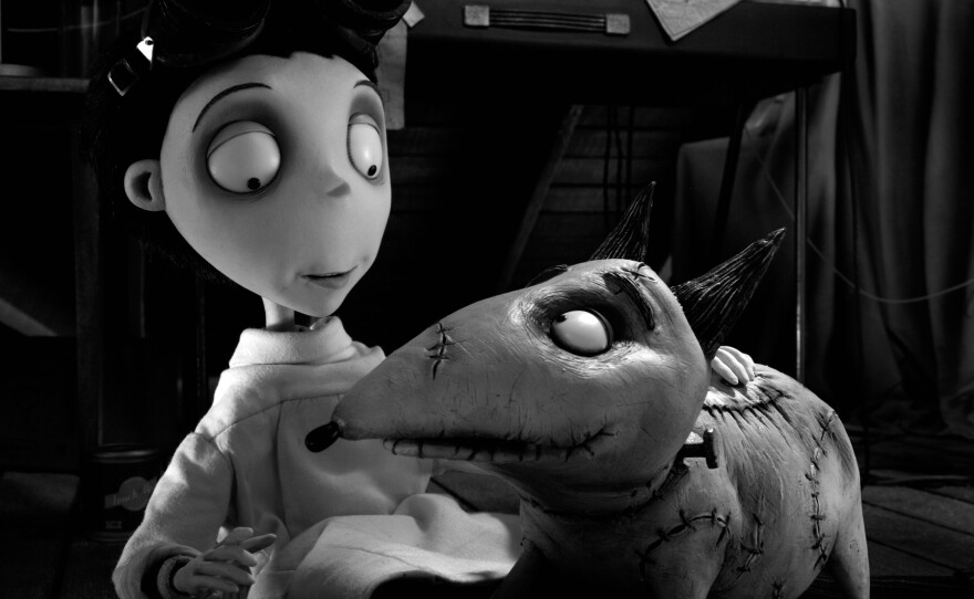"""A little love, a little electricity, and a few things from mom's kitchen and you get """"Frankenweenie."""""""
