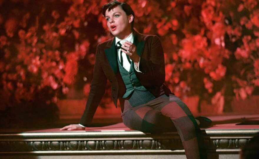 """Judy Garland plays the rising star in George Cukor's """"A Star Is Born."""""""