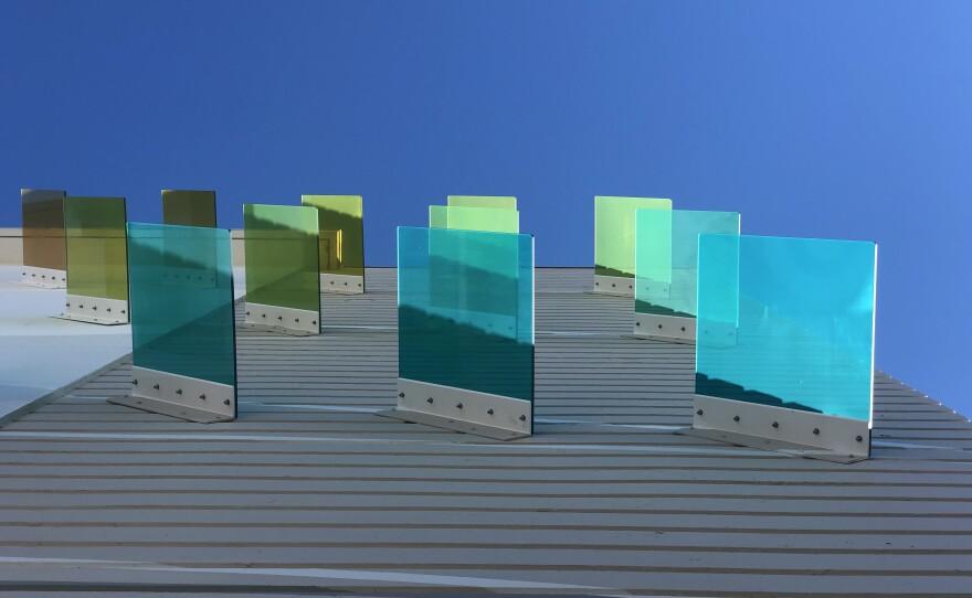 "Detail of Kaori Fukuyama's ""Wave of Change"" mural."