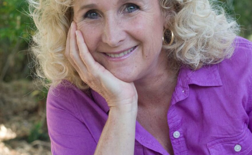 """Nan Sterman, host, co-producer, and co-writer of A GROWING PASSION, a television series that celebrates all the ways that San Diego """"grows,"""" from farms and nurseries to backyards and schoolyards, to native habitats and more."""