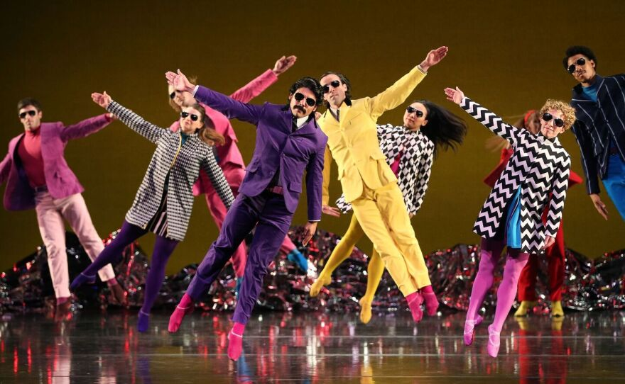 """A promotional photo from Mark Morris Dance Group's """"Pepperland."""""""