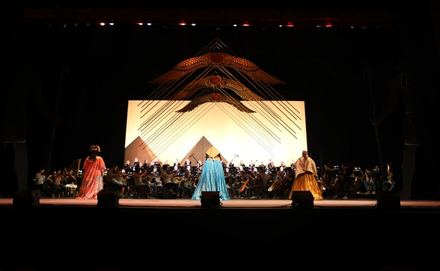 """San Diego Opera's production of """"Aida"""" offers a different look for the epic Verdi opera."""