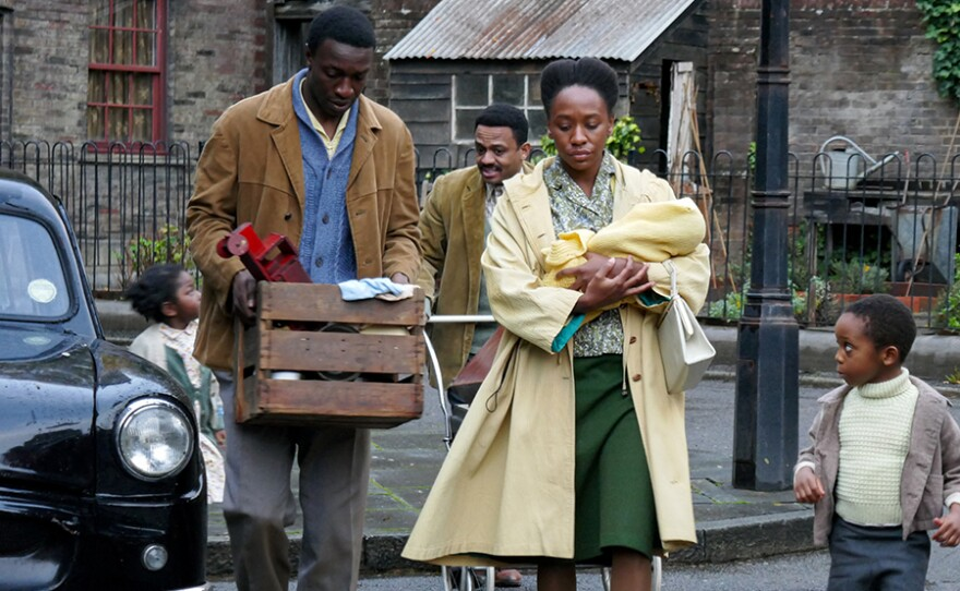 Cyril Robinson (ZEPHRYN TAITTE), Mr. Clarke (ASHLEY CAMPBELL), Mrs. Clarke (TERI ANN BOBB-BAXTER)