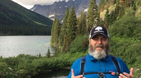 Nick Offerman's new book is an appreciation of the outdoors. It includes sections on hiking Glacier National Park in Montana.