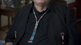 Portrait photo of American Indian Heritage Month Local Hero Randy Edmonds, Nov. 2016.