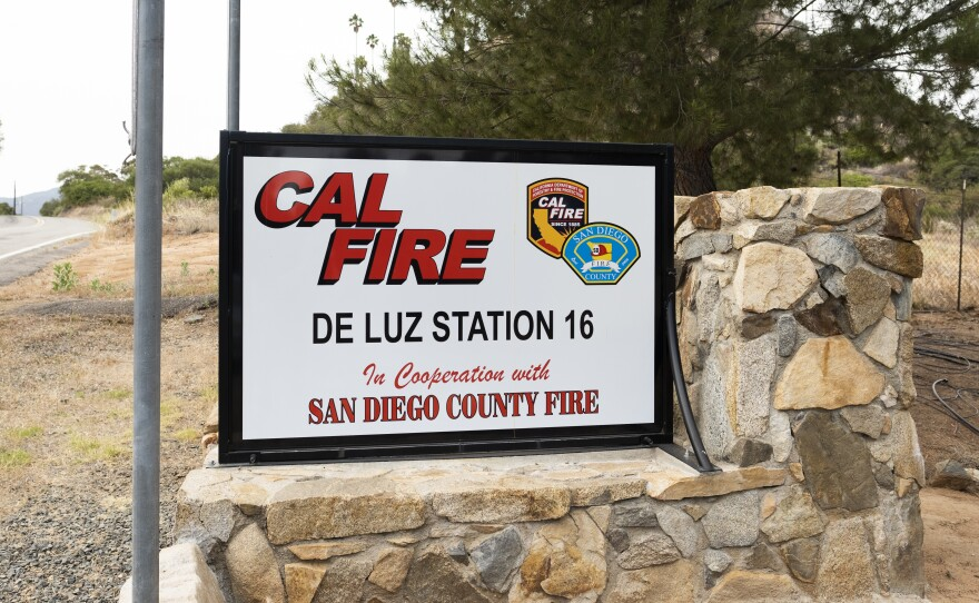 Yaroslav Katkov worked at Cal Fire De Luz Station 16 located in the hills just outside of Temecula.