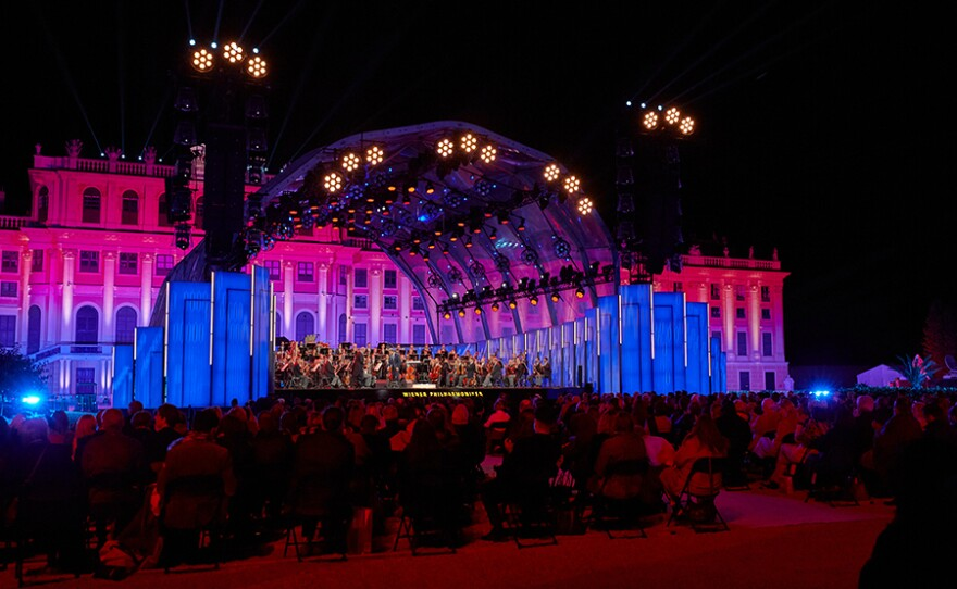 Enjoy theViennaPhilharmonic's annualsummernightconcert under the direction of a guest conductor at Austria's Schönbrunn Palace (pictured).