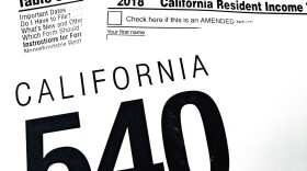 California Resident Income Tax Returns documents, April 2018
