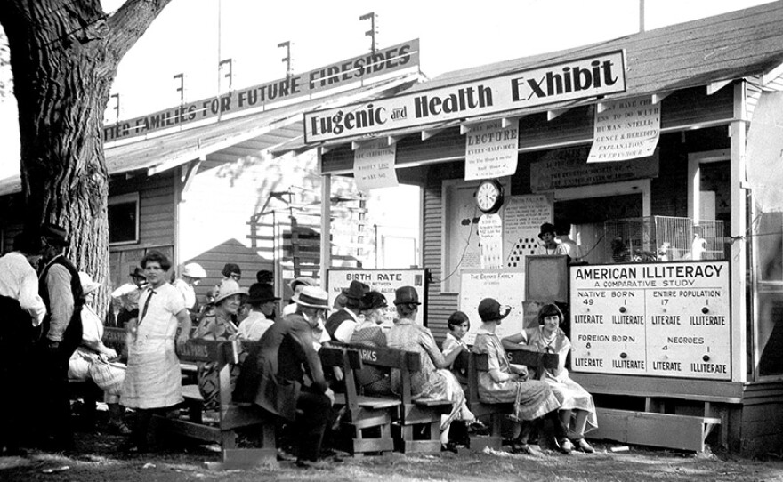 Eugenic and Health Exhibit, Fitter Families Contest, Kansas Free Fair, 1925.