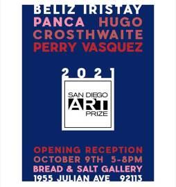 San Diego Art Prize poster