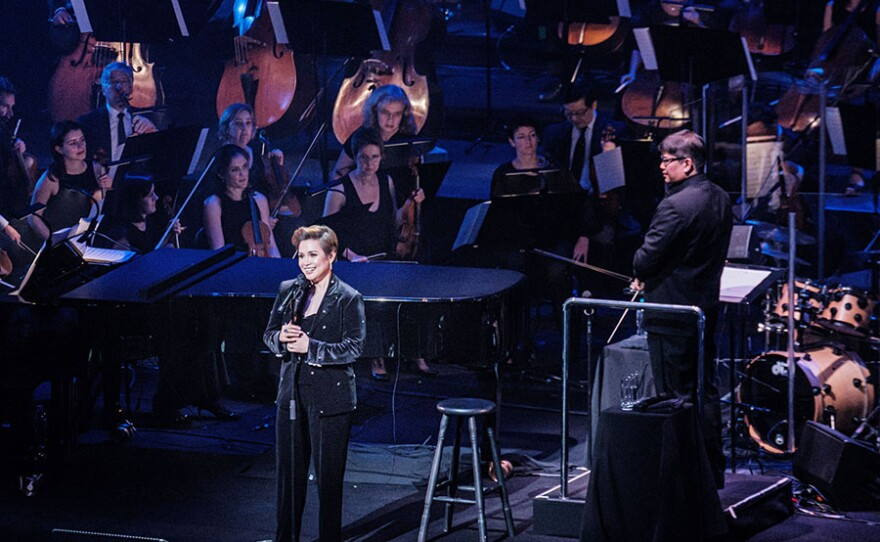 Lea Salonga with the Sydney Symphony Orchestra.