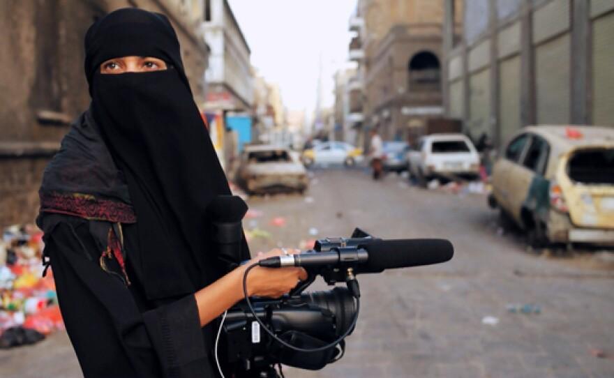 "In ""Yemen Under Siege,"" Safa Al-Ahmad (pictured) captures the stunning human toll of the conflict in Yemen, focusing on Taiz, Yemen's third-largest city."