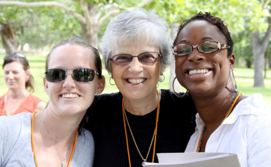 Participants at the Coming Home Project's retreat for female veterans and service members