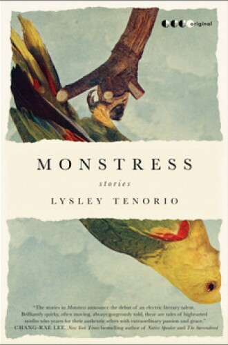 """Cover Art for """"Monstress,"""" by Lysley Tenorio, the 2014 One Book, One San Diego selection."""