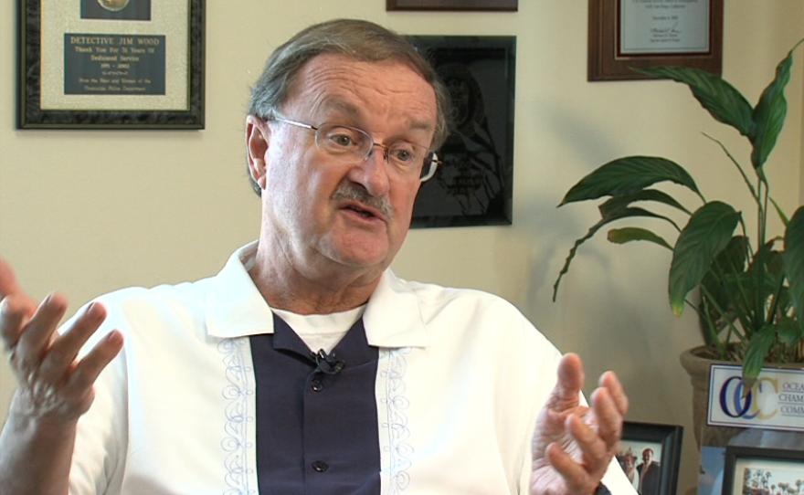 Oceanside Mayor Jim Wood, October 2014.