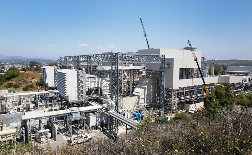 Palomar Energy Center, Escondido, June 2016.