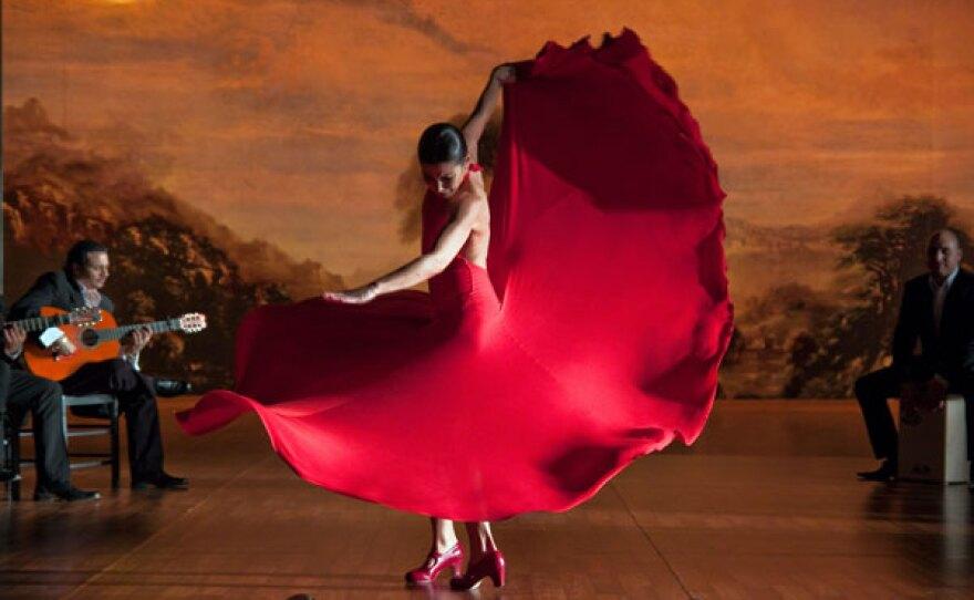 """Carlos Saura's """"Flamenco, Flamenco."""""""