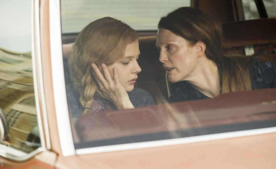 """Chloe Grace Moretz and Julianne Moore as a dysfunctional daughter and mother in """"Carrie."""""""