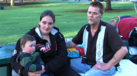 Homeless Families Crowd San Diego Shelters