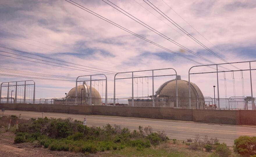 Photo of the San Onofre Nuclear Generating Station taken on April 5, 2019.