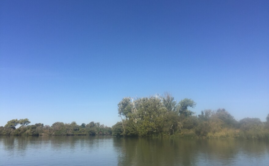 The Sacramento Delta is shown in this picture, Sept. 19, 2017.