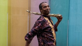 Femi Kuti, the eldest son of Afrobeat legend Fela Kuti, plays the Belly Up Thursday, January 17, 2013.