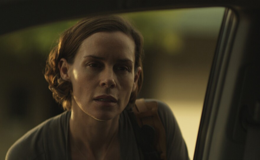 """Embeth Davidtz stars as an actress renting a home in the suburban town of """"3 Backyards."""""""