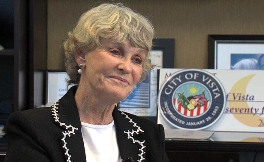 Vista Mayor Judy Ritter