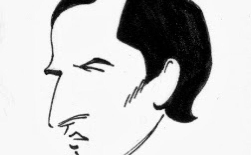 Silvio and his nose by Eric Shanower.