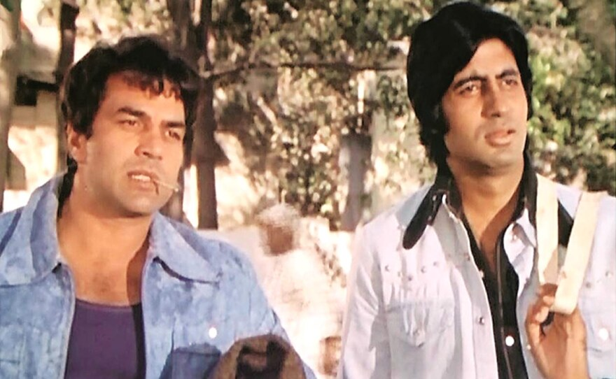 """""""Sholay"""" (1975) is often cited as the best example of Bollywood filmmaking."""